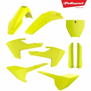 Kit Complet Plastice MX HUSQVARNA TC/FC- FLUO yellow