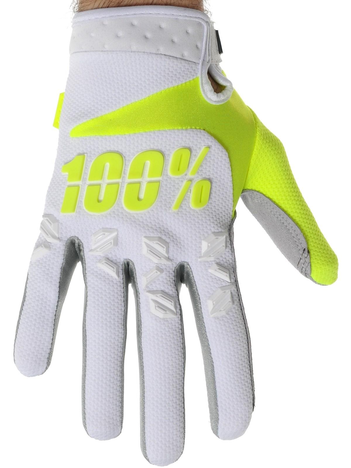 MANUSI MX 100% AIRMATIC ALB/GALBEN/GRI #XL