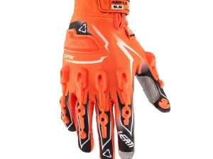 MANUSI MX-ENDURO LEATT GPX 5.5 Lite Orange/Negru/Alb #XL