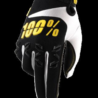 MANUSI MX 100% AIRMATIC NEGRU/GALBEN #XL