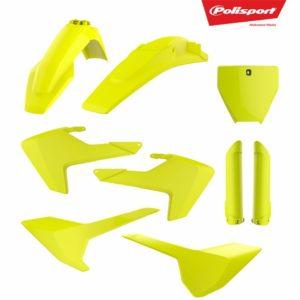 Kit Complet Plastice MX HUSQVARNA TC/FC- FLUO yellow