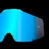 LENTILA 100% (RACECRAFT/ACCOURI/STRATA) OGLINDA ANTI-ABURIRE ALBASTRU