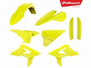POLISPORT Kit Complet Plastice MX SX/EXC (16-17) FLO YEL