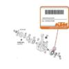 RULMENT AMBIELAJ KTM EXC / SX 250 - 300 2T