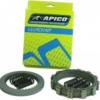 APICO Factory Racing Kit ambreiaj complet cu arcuri KTM SX/EXC250/300 2T(94-12) HUSABERG TE250/300(11-12)Kit SX/EXC250/300(94-12) TE250/300(11-12)