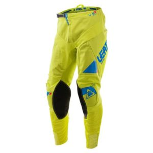 PANTALON MX-ENDURO LEATT GPX 4.5 Lime/Albastru #S
