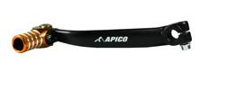 APICO Pedala schimbator viteze forjata KTM/HUSA/HUSKY 125/150(01-15)SX-F250/350(13-15) TE125,FE/FC350(14-16) Negru/Portocaliu