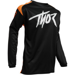TRICOU MX-ENDURO SECTOR LINK NEGRU-ORANGE, XL, THOR