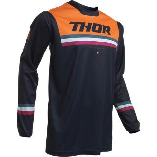 TRICOU MX-ENDURO PULSE PINNER NEGRU/ORANGE, M, THOR