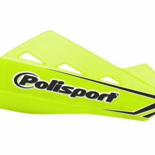 PROTECTIE DIN PLASTIC HANDGUARD QWEST - FLUO, POLISPORT